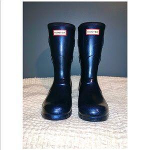 Women's Starcloud Glitter Hunter boots /Navy/SZ. 8